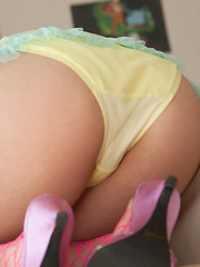 Tomoe Yamanaka Asian takes clothes off with playful moves for you - Erotic and nude pussy pics at GirlSoftcore.com