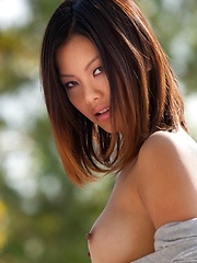 Khyanna Song - reveals her mesmerizing body - Erotic and nude pussy pics at GirlSoftcore.com