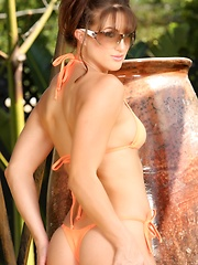 Hard body babe, Misty Anderson, is so hot in one of her