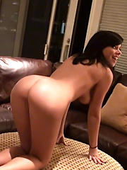 Destiny Moody gets wild and wooly shakin\' it all over the house - Erotic and nude pussy pics at GirlSoftcore.com