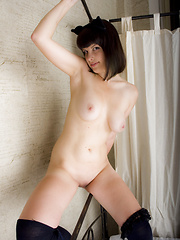Sweetheart in costume - Erotic and nude pussy pics at GirlSoftcore.com