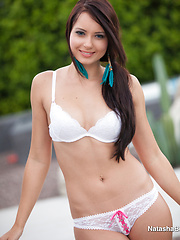 Outdoor Strip - Erotic and nude pussy pics at GirlSoftcore.com