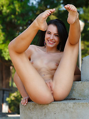 Sapphira A - LAPENA - Erotic and nude pussy pics at GirlSoftcore.com