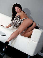 Leopard Dress - Erotic and nude pussy pics at GirlSoftcore.com