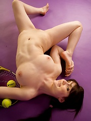 Anyone For Raquetball - Erotic and nude pussy pics at GirlSoftcore.com