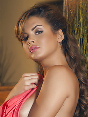 Keisha Grey rubs her pulsing clit until she's satisfied - Erotic and nude pussy pics at GirlSoftcore.com