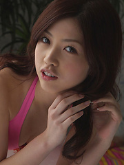 Azusa Togashi Asian has lovely smile, juicy bum and generous cans - Erotic and nude pussy pics at GirlSoftcore.com