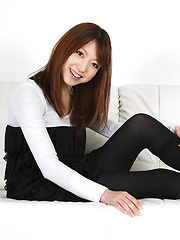 Kaori Yokoyama Asian with cute smile presents her new sexy dress - Erotic and nude pussy pics at GirlSoftcore.com