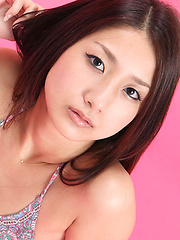 Misaki Takahashi Asian in lingerie has all she needs for a model - Erotic and nude pussy pics at GirlSoftcore.com