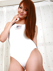 Saki Ueda Asian proudly shows her appetizing curves in lingerie - Erotic and nude pussy pics at GirlSoftcore.com