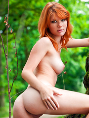 red beauty - Erotic and nude pussy pics at GirlSoftcore.com