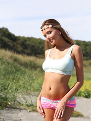 With her doll-like features, Vlad Kleverov's lens captures the youthful and delicate beauty of Mango A frolicking and posing like a carefree, fun loving sea nymph. - Erotic and nude pussy pics at GirlSoftcore.com