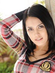 Maria Ozawa in casual clothes before fucking. - Erotic and nude pussy pics at GirlSoftcore.com