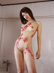 Alluring Remi Kawamura poses on the set nude - Erotic and nude pussy pics at GirlSoftcore.com