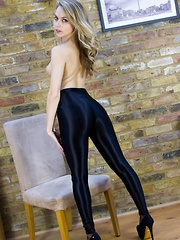 Chloe Leggings - Erotic and nude pussy pics at GirlSoftcore.com