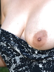 Akito takes evening dress off outdoors to be naked - Erotic and nude pussy pics at GirlSoftcore.com