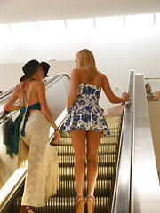 Arya and Bailey as Mall Rats - Erotic and nude pussy pics at GirlSoftcore.com