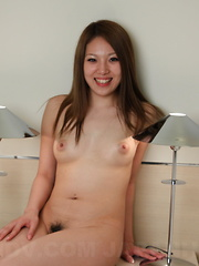 Asian gal Manami Ichikawa shows her vagina - Erotic and nude pussy pics at GirlSoftcore.com