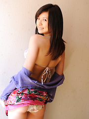 Konomi Yoshikawa Asian smiles being proud of her lustful curves - Erotic and nude pussy pics at GirlSoftcore.com
